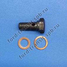 Штуцер подачи масла в турбину Ford Transit (2.2, 2.4) 06-11, Peugeot Boxer, Citroen Jumper (2.2) 06-11