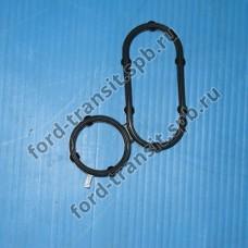 Прокладка масляного радиатора Ford Transit, Peugeot Boxer, Citroen Jumper (2.2) 06- (железный фильтр)