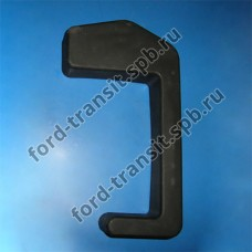 Клык заднего бампера левый (шасси, бортовой) Ford Transit 00-