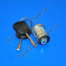 Вставка замка зажигания с ключом Ford Transit 1985 - 2006, Escort 1986 - 1990 , Granada 1985 - 1992