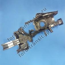 Лонжерон передний Ford Connect 02-13 (L, с фартуком)