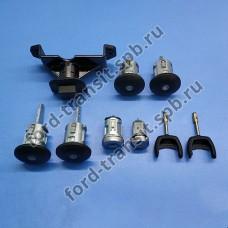 Вставки замков (задние двери распашные) без ц.з. Ford Transit 4/06-1/14