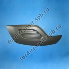Решетка передняя правая Ford Custom 2012- (без отверстия под ПТФ)