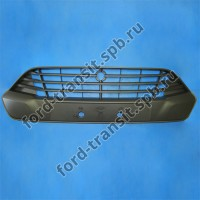 Решетка переднего бампера верхняя Ford Custom 9/12-