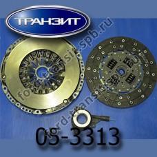 Комплект сцепления Ford Transit  2.4 (135,140) МТ82 04-11  (демпферное с цилиндром)