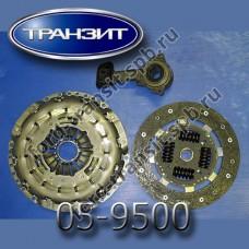 Комплект сцепления Ford Transit (2.2) 06-14 (VXT75, 85, 110 л.с., с цилиндром)