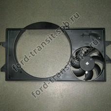 Диффузор радиатора Ford Transit 2.4 8/00 - 12/06 (без кондиционера) Diesel