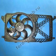 Диффузор радиатора Ford Transit 2.2 FWD, 2.3 4/06-12/14 ( без кондиционера )