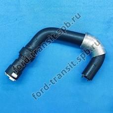 Патрубок радиатора печки Ford Transit (2.4) 00-06 (подающий, без конд.)
