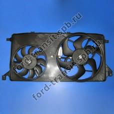 Диффузор радиатора Ford Transit 06-09 (2.2, 2.3) (с кондиционером)