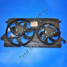 Диффузор радиатора Ford Transit 2.2 3/09-12/14, 2.3 10/07-12/14  ( с кондиционером )