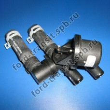 Клапан отопителя печки Ford Transit 4/06-12/14 г.в. (с кондиционером)