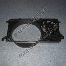Диффузор радиатора Ford Transit 2.4 4/06-9/11, 2.2 RWD 9/11-12/14 (c кондиционером) Diesel