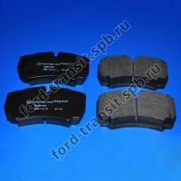 Колодки тормозные задние Ford Transit 07-14 (RWD, 460 серия)