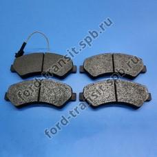 Колодки тормозные передние Peugeot Boxer 06-, Citroen Jumper 06-