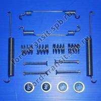 Рем. комплект задних колодок Ford Transit 00-06 (SRW), 06-14 (280S, пружинки)