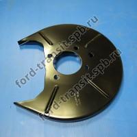"""Пыльник заднего тормозного диска Ford Transit 06-14 (R, FWD, R15"""")"""