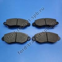 Колодки тормозные передние Форд Транзит 00-06 (RWD, FWD 330, 350)
