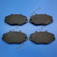"""Колодки тормозные дисковые передние Ford Transit 91-00 (R15"""")"""