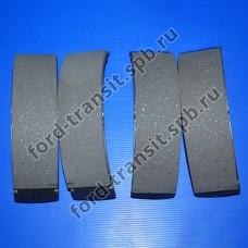 Колодки тормозные задние Ford Connect 02-13 (барабанные тормоза)