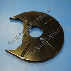 Пыльник заднего тормозного диска Ford Transit 06-14 (FWD кроме 330, 350 серии)