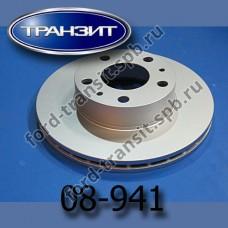 Диск тормозной передний Box III, Jum III R15 (280x24)