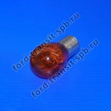 Лампочка P 21w (прямые контакты) желтая