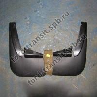 Брызговики задние Ford Transit 00-14 (резина)