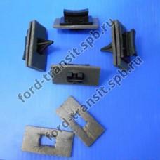 Крепления молдинга лобового стекла Ford Transit 00-14 (комплект)