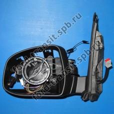 Зеркало боковое Ford Focus 07-11 (L) (с обогревом)