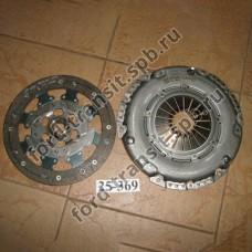 Комплект сцепления Ford Focus 04 - 11, C-Max 03 - 11, Mondeo 07 - 14, S-Max/Galaxy 06 - 15, Fiesta 01- 08, Fusion 01 - 12 (1.8, 2.0)