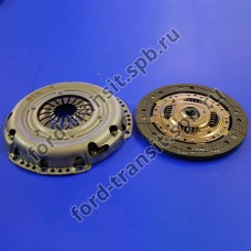 Комплект сцепления Ford Focus 04 - 11, C-Max 03 - 11, Fiesta 01 - 08, Fusion 01 - 12 (1.4, 1.6)