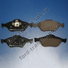 Колодки тормозные передние Ford Fiesta 95-08, Fusion 01-12