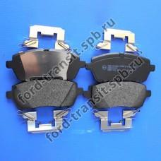 Колодки тормозные передние Ford Fiesta 08-18