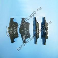 Колодки тормозные задние Ford Focus 04-18, C-Max 03-07 (дисковые тормоза)