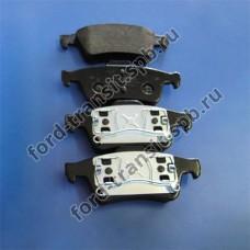 Колодки тормозные задние Ford Focus 04-18, C-Max 03-07 ( дисковые тормоза )