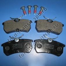 Колодки тормозные задние Ford Focus 98-05 (дисковые тормоза)