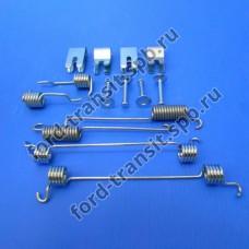 Ремонтный комплект задних колодок на барабанные тормоза Ford Focus 1 c 98-05 г.в. (пружинки)