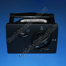 Переключатель света фар Ford Focus 04-11 (с регулировкой)