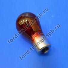 Лампочка 21W (красная) задний фонарь Ford Focus 2 08-11 (хэтчбэк, универсал)