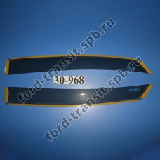 Ветровики задние Ford Focus 2 04 - 11, C-Max 03 - 11